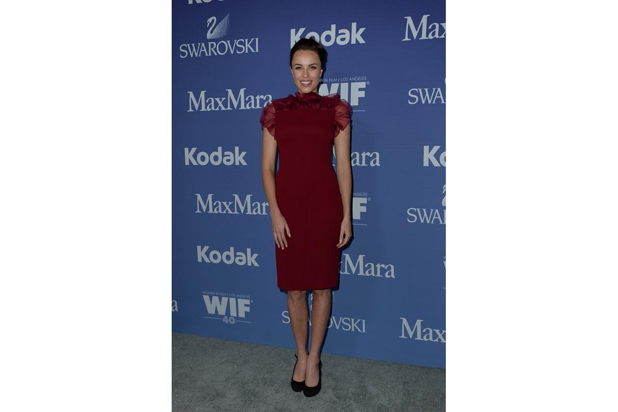 Jessica McNamee in Max Mara