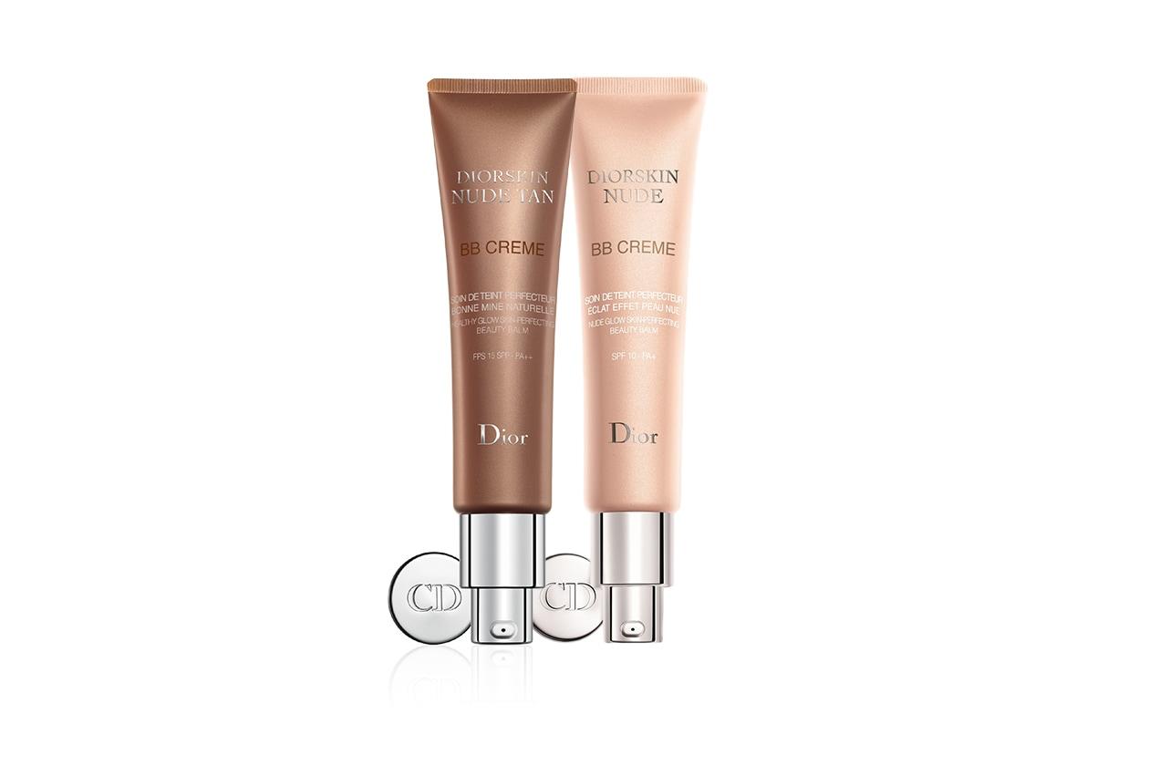 Per un colorito di rosa fresco e luminoso: la Diorskin Nude BB Creme Soin de Teint Perfecteur Eclat Effet Peau Nue è un'unione perfetta tra trattamento e maquillage