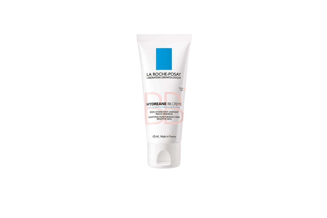 Specifico per pelli sensibili, il perfezionatore di pelle anti-colorito spento Hydreane BB Crème di La Roche Posay si adatta a tutte le carnagioni