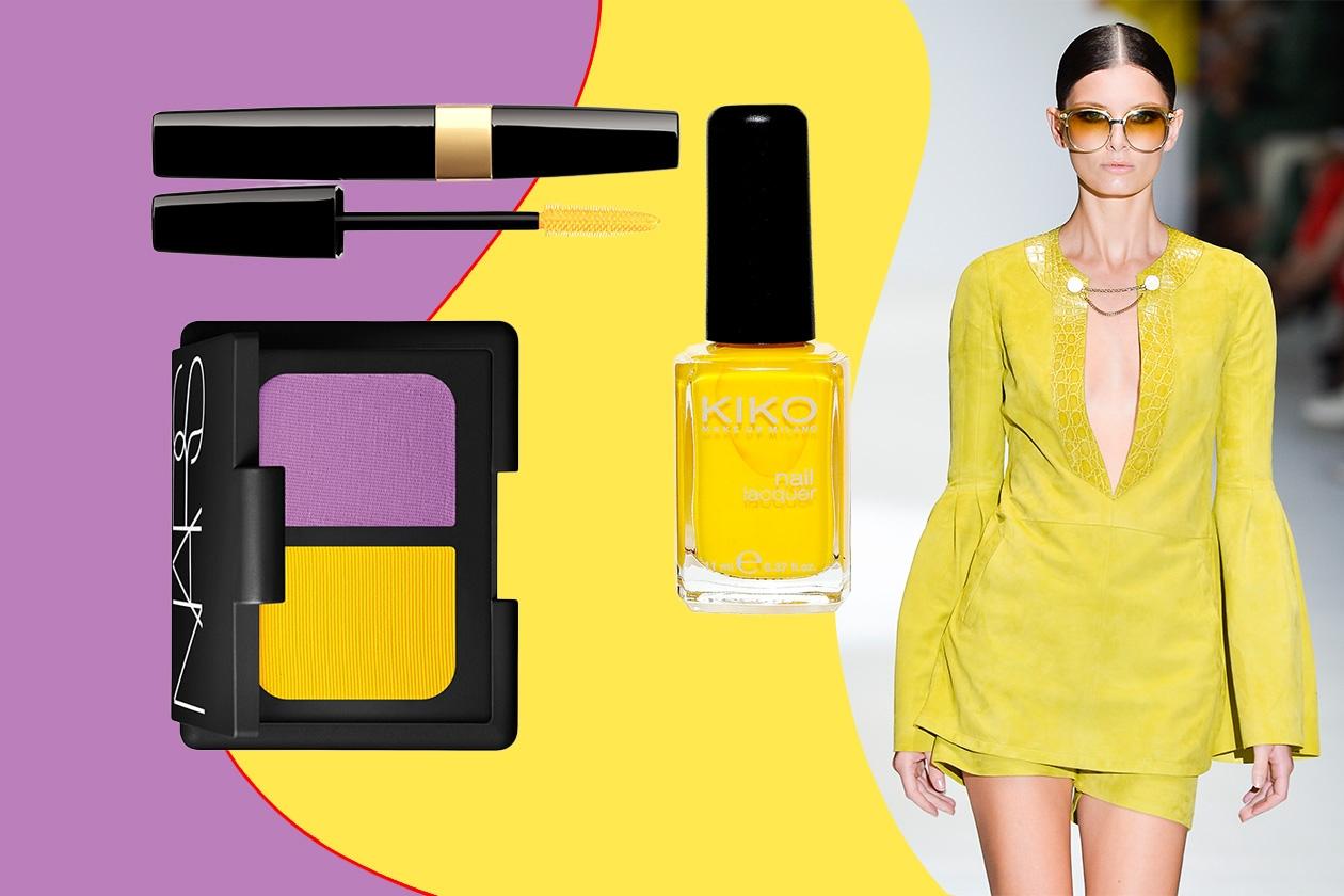 TOTAL LOOK: color protagonista assoluto sia nel guardaroba (Gucci) sia nel beauty case (Chanel – Kiko- Nars)