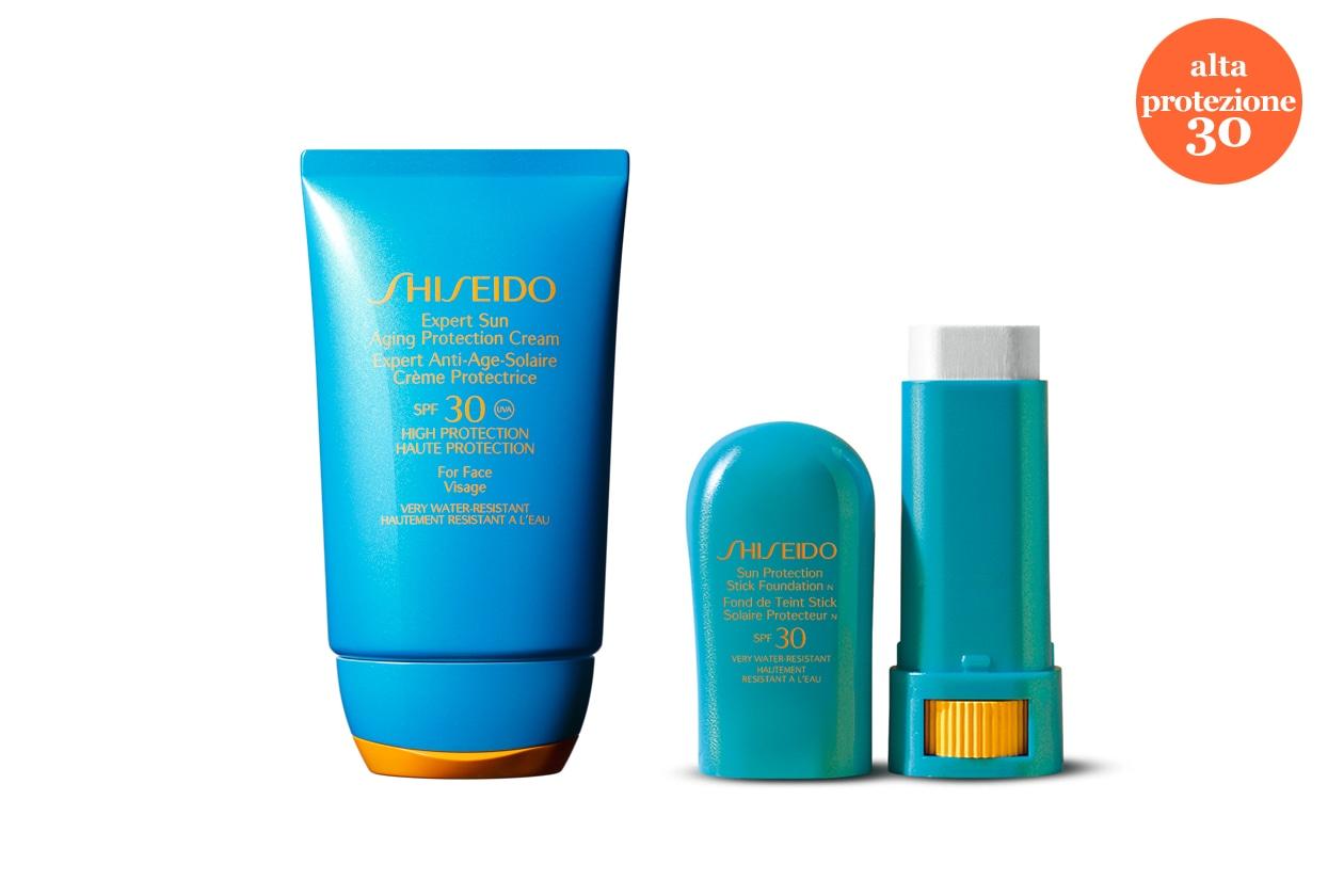 Tra le novità 2013 dei solari Shiseido, l'Expert Sun Aging Protection Cream previene danni cellulari e photoaging