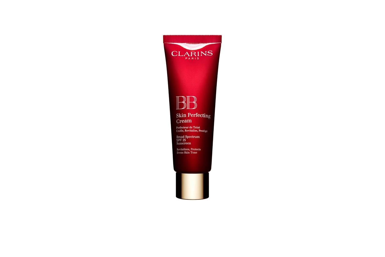 Uniformizza, rivitalizza e protegge la BB Skin Perfecting Cream di Clarins