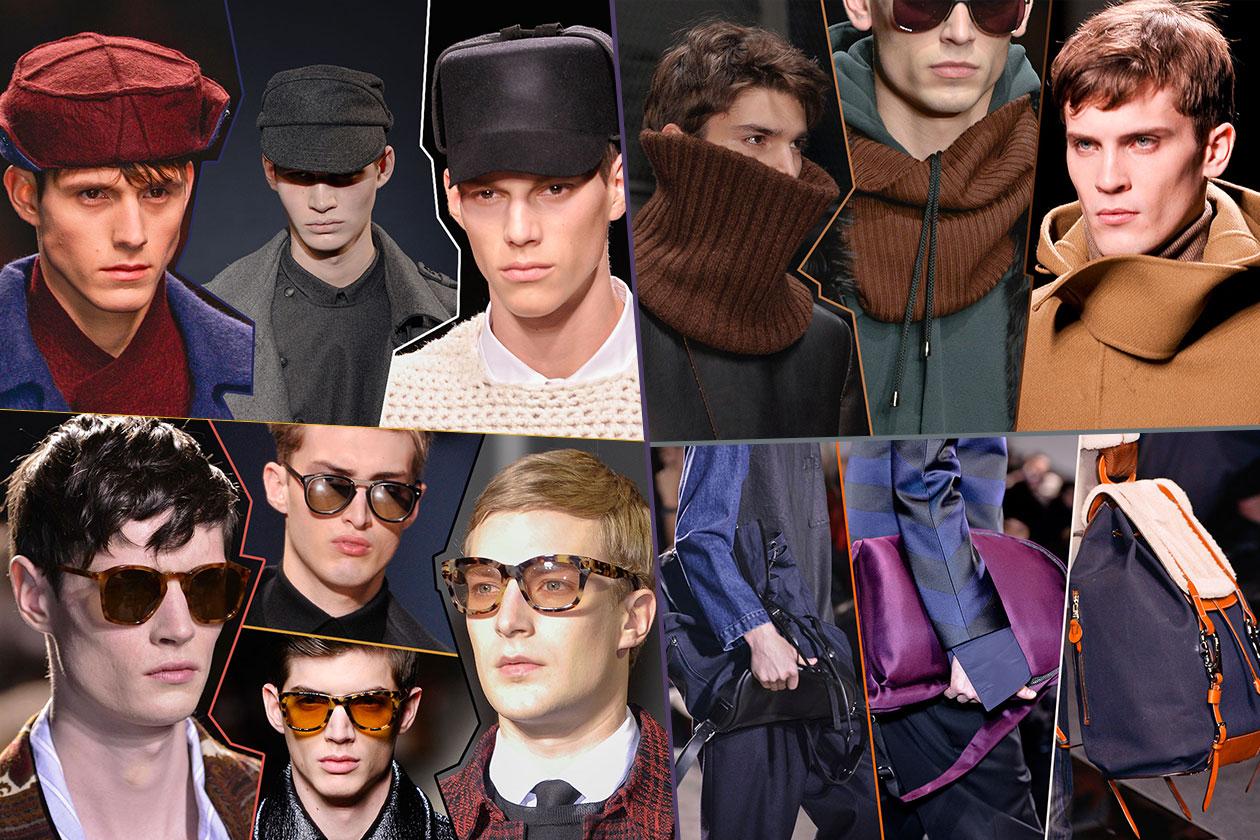 Fashion Accessori temi al maschile 00 Cover collage