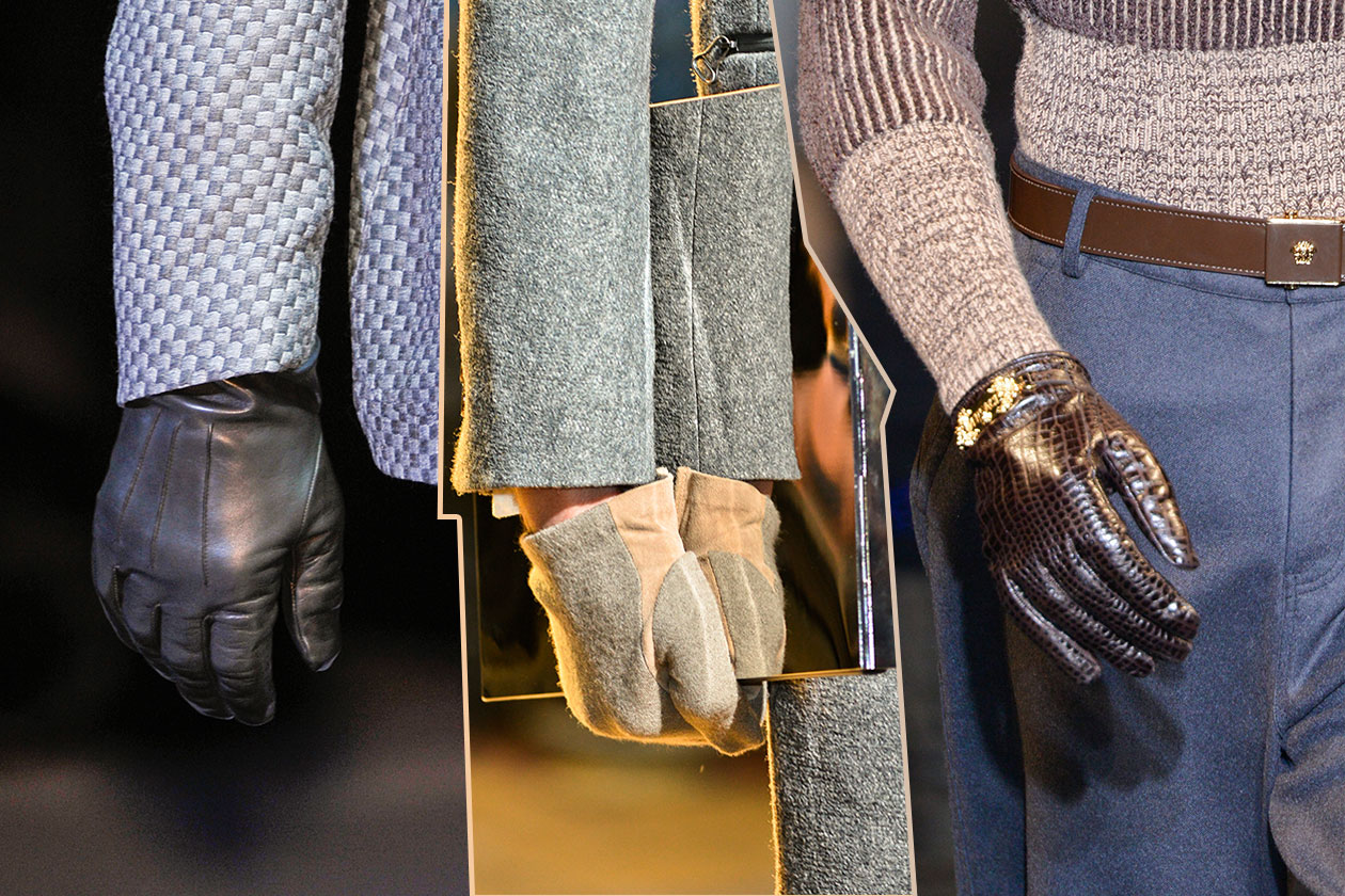 Fashion Accessori temi al maschile Mai senza guanto