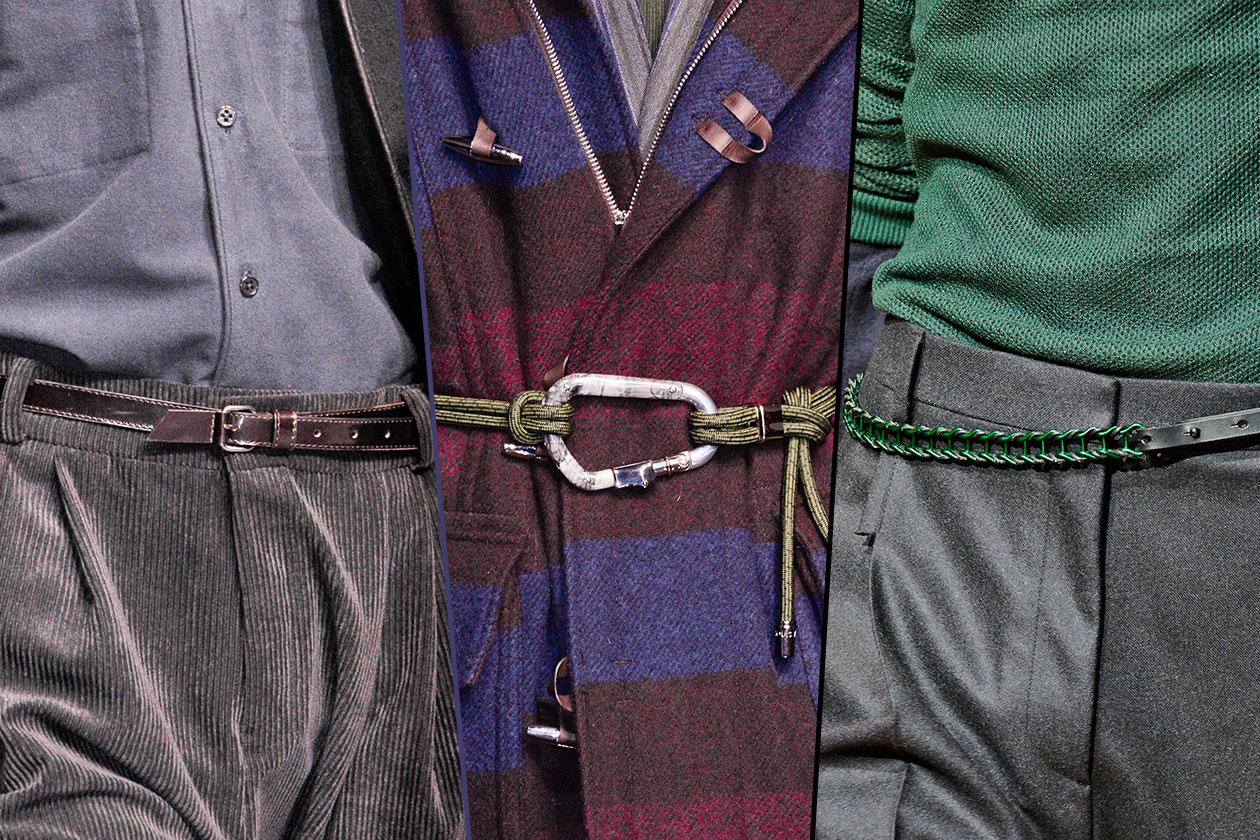 Fashion Accessori temi al maschile Stringi la cinghia