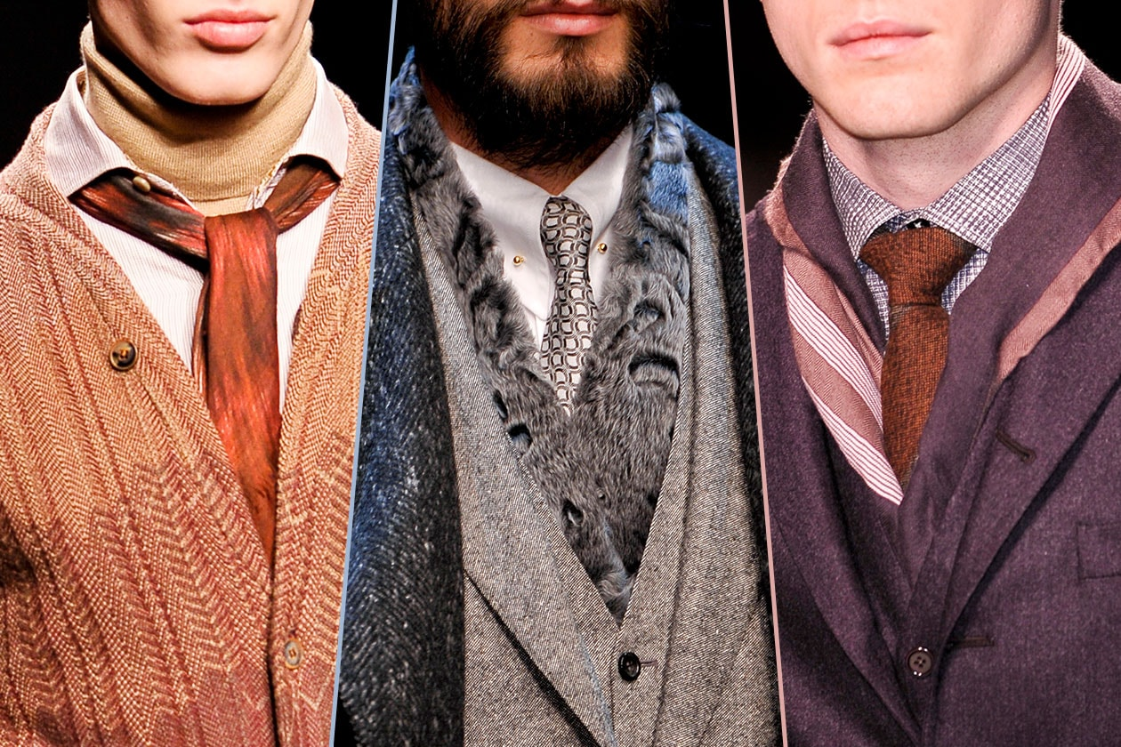 Fashion Accessori temi al maschile Foulard