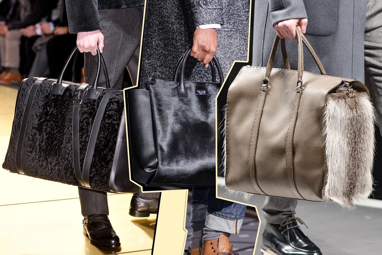 Fashion Accessori temi al maschile Al pelo