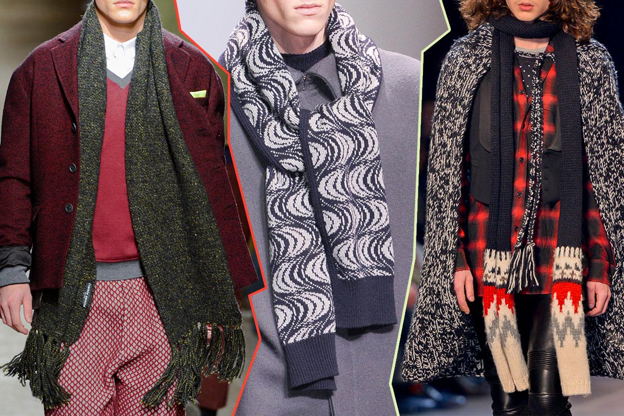 Fashion Accessori temi al maschile Vecchio sciarpone