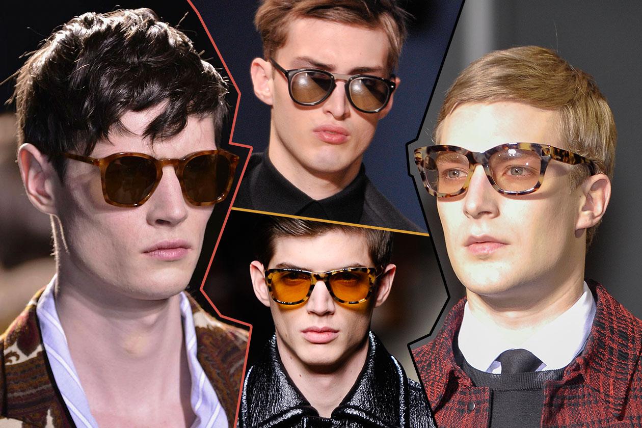 Fashion Accessori temi al maschile Retro sunglasses
