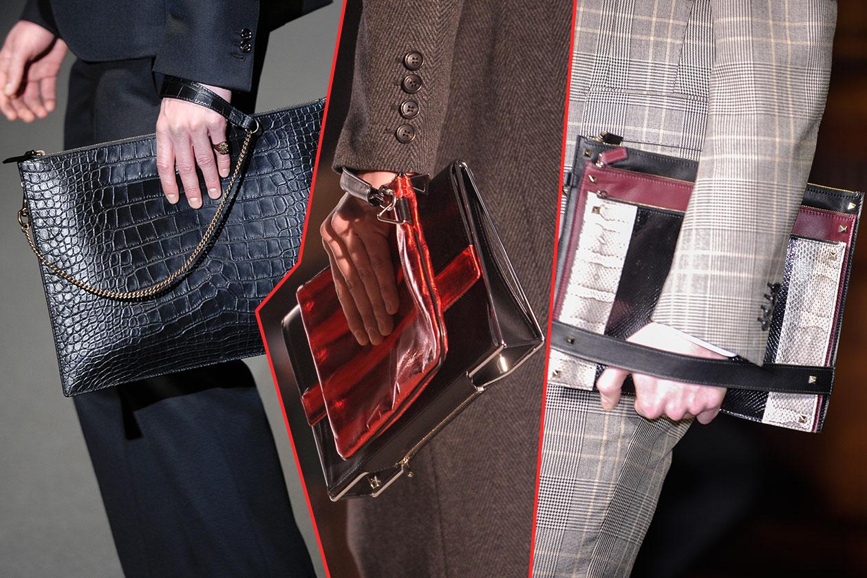 Fashion Accessori temi al maschile Pochette