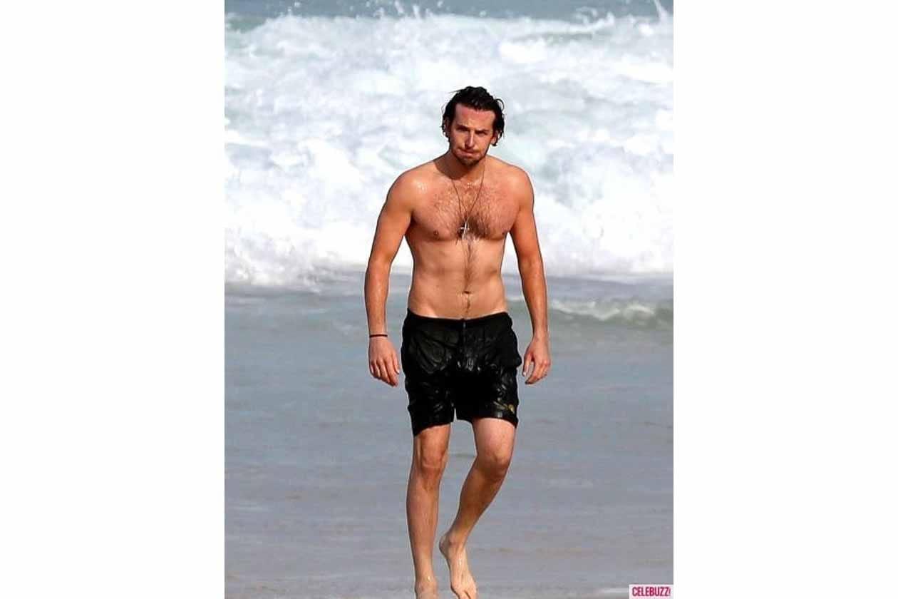 Bradley Cooper in tutto il suo splendore