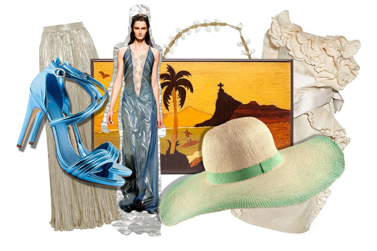 Come una sirena: look e accessori ispirati al mare