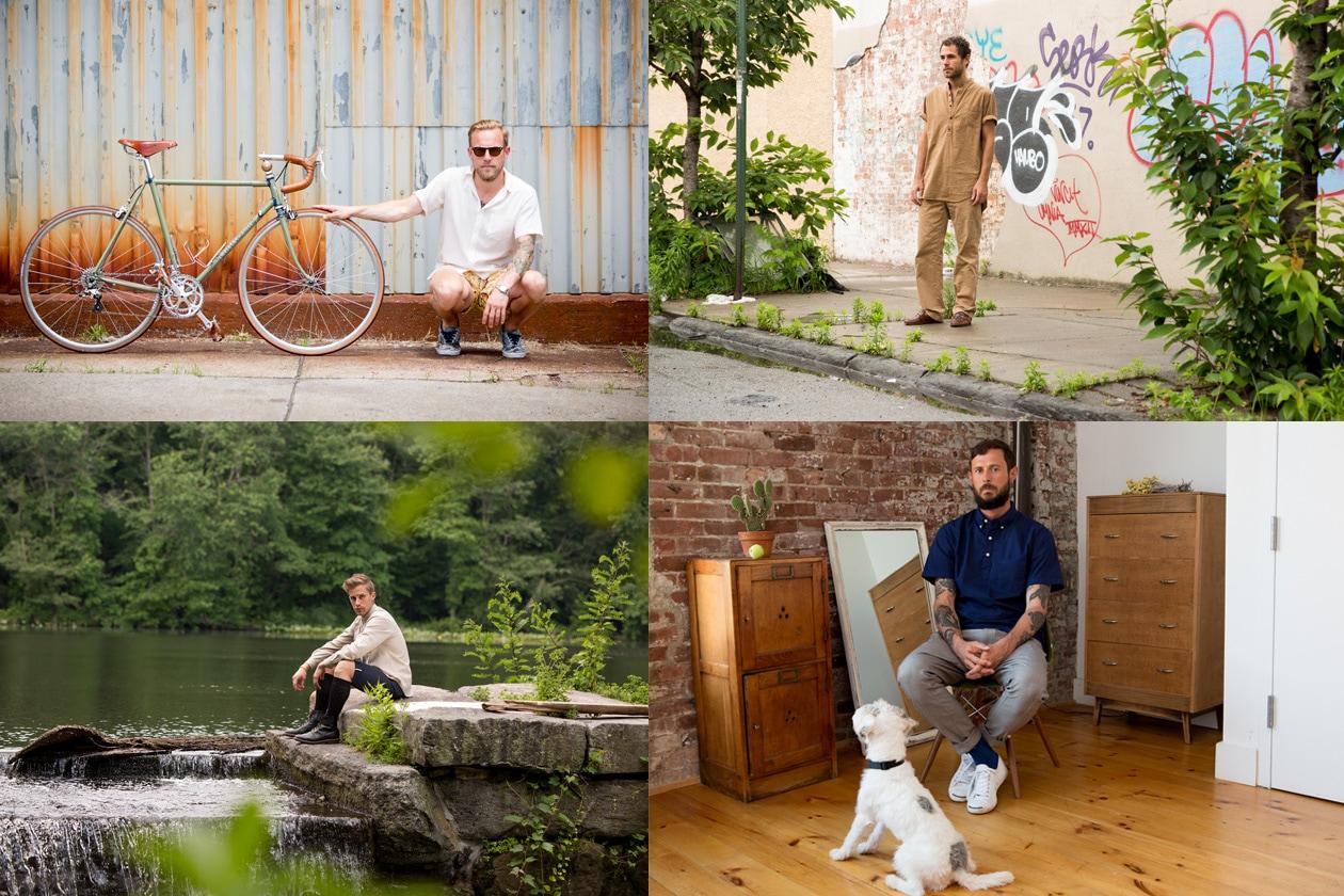 Trend al maschile: quattro ragazzi per quattro stili