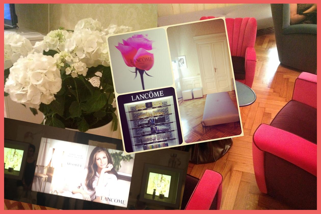 Alla scoperta della Maison Lancôme e dello Skin Care Master 2013 Sephora by Lancôme