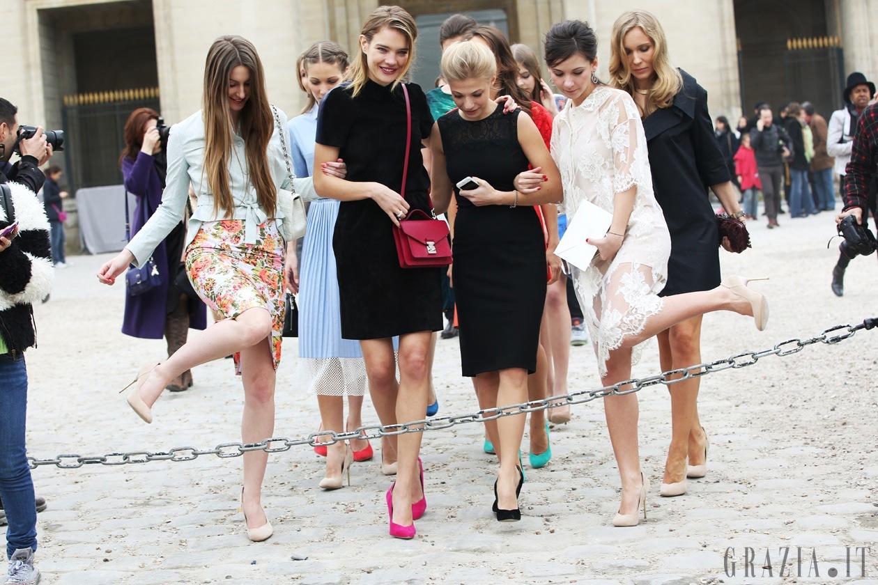 Natalia Vodianova e amiche