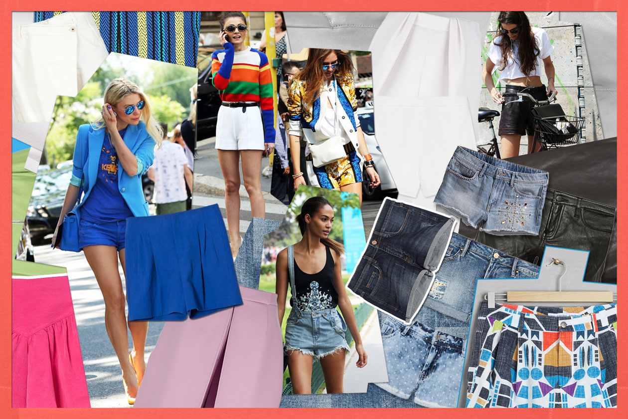 00 Fashion Shorts Cover collage