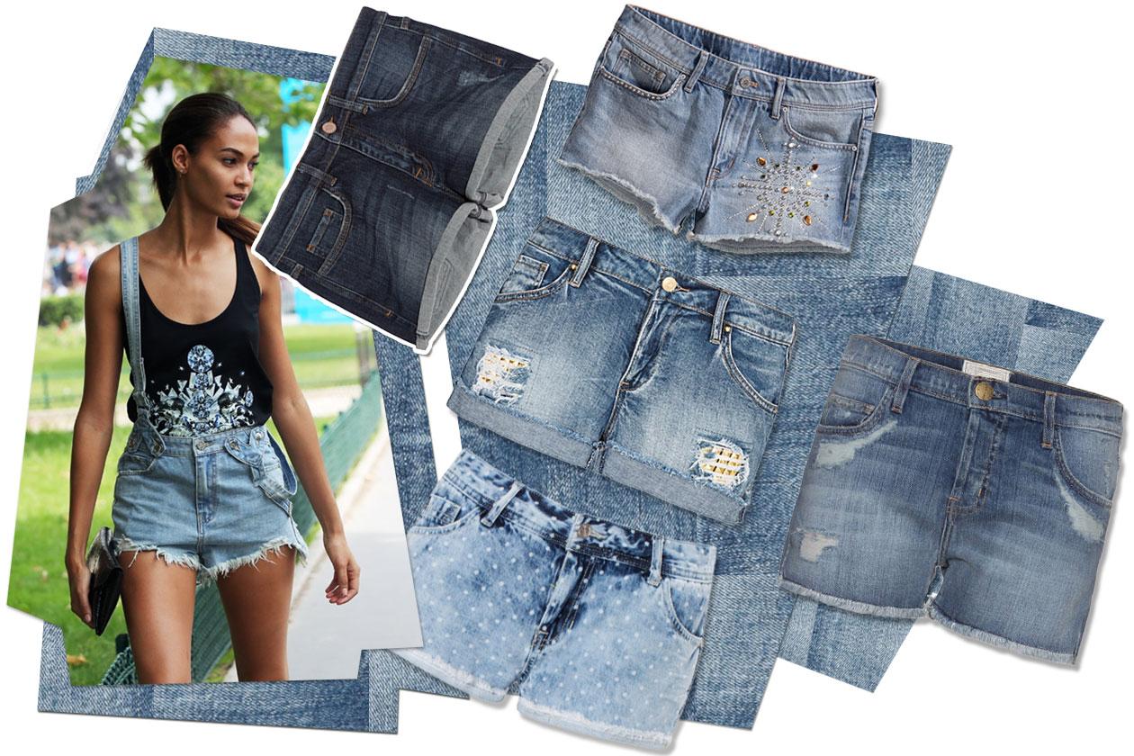 01 Fashion Shorts Denim 00 Collage