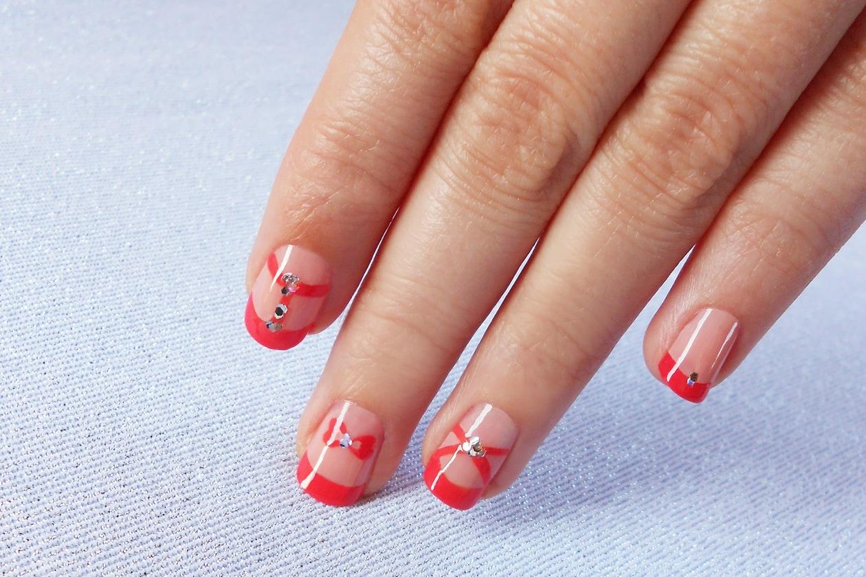 02 SparklingCoralista nailart 01