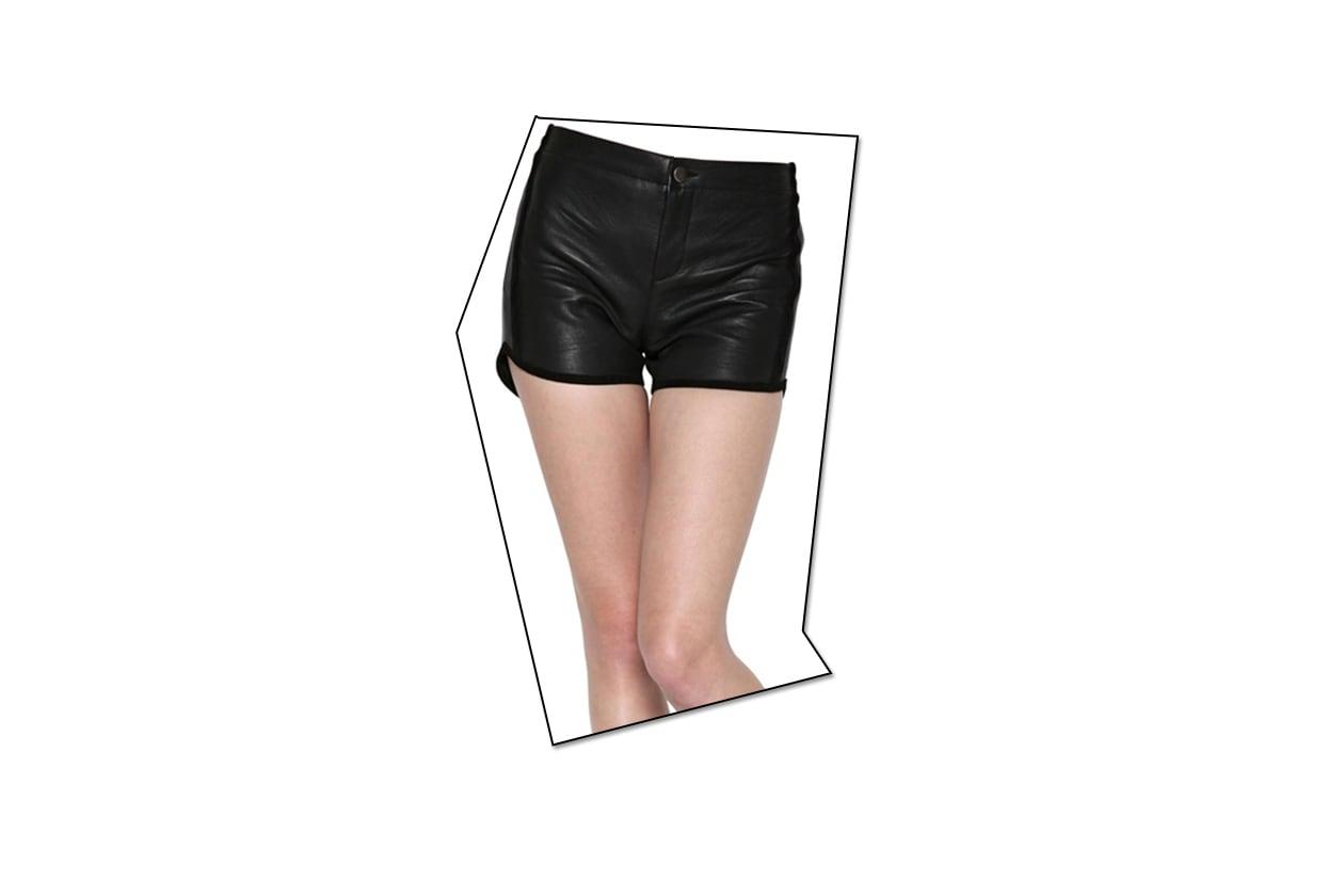 03 Fashion Shorts Pelle american retro