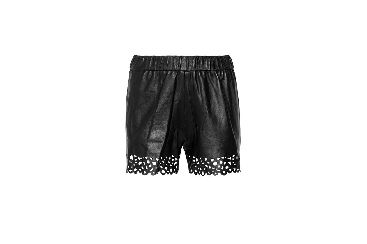 03 Fashion Shorts Pelle diane von furstenberg