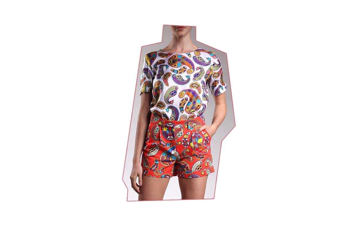 04 Fashion Shorts Printed msgm