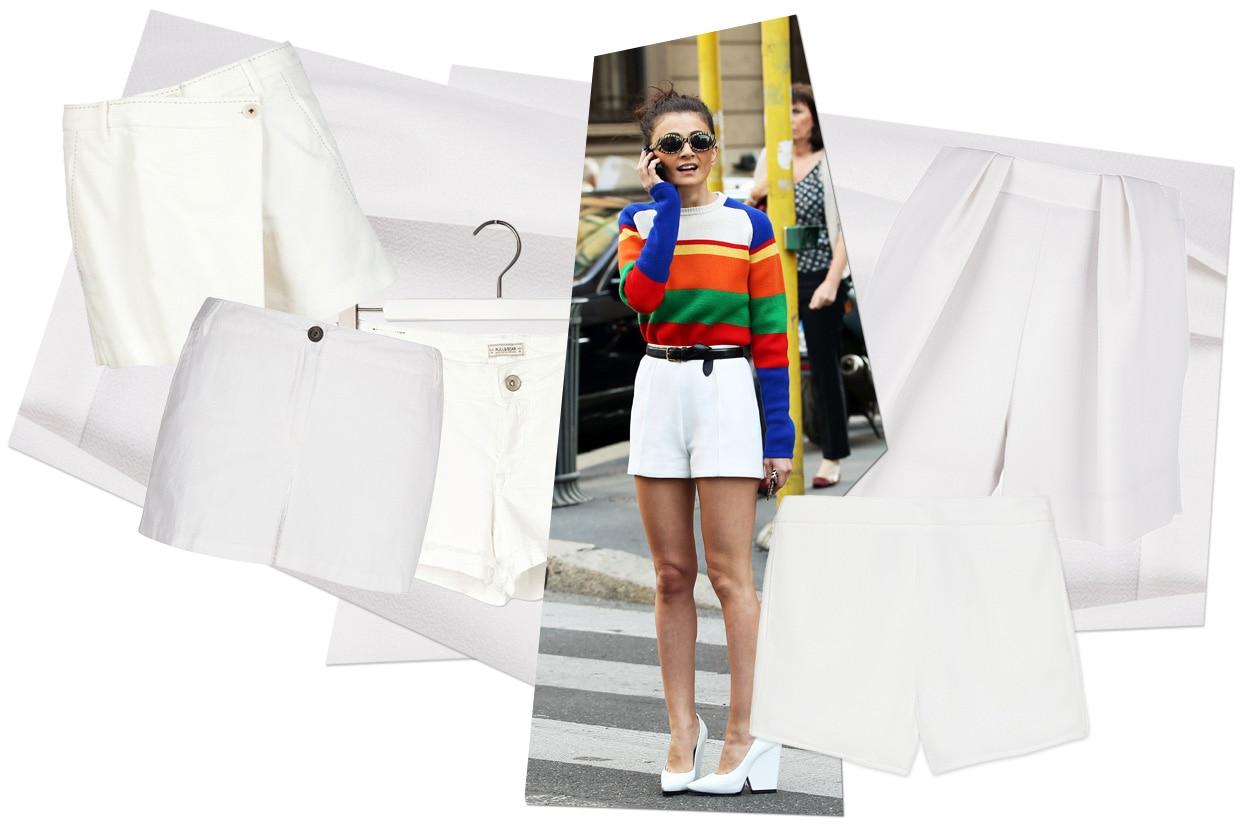 05 Fashion Shorts White 00 Collage