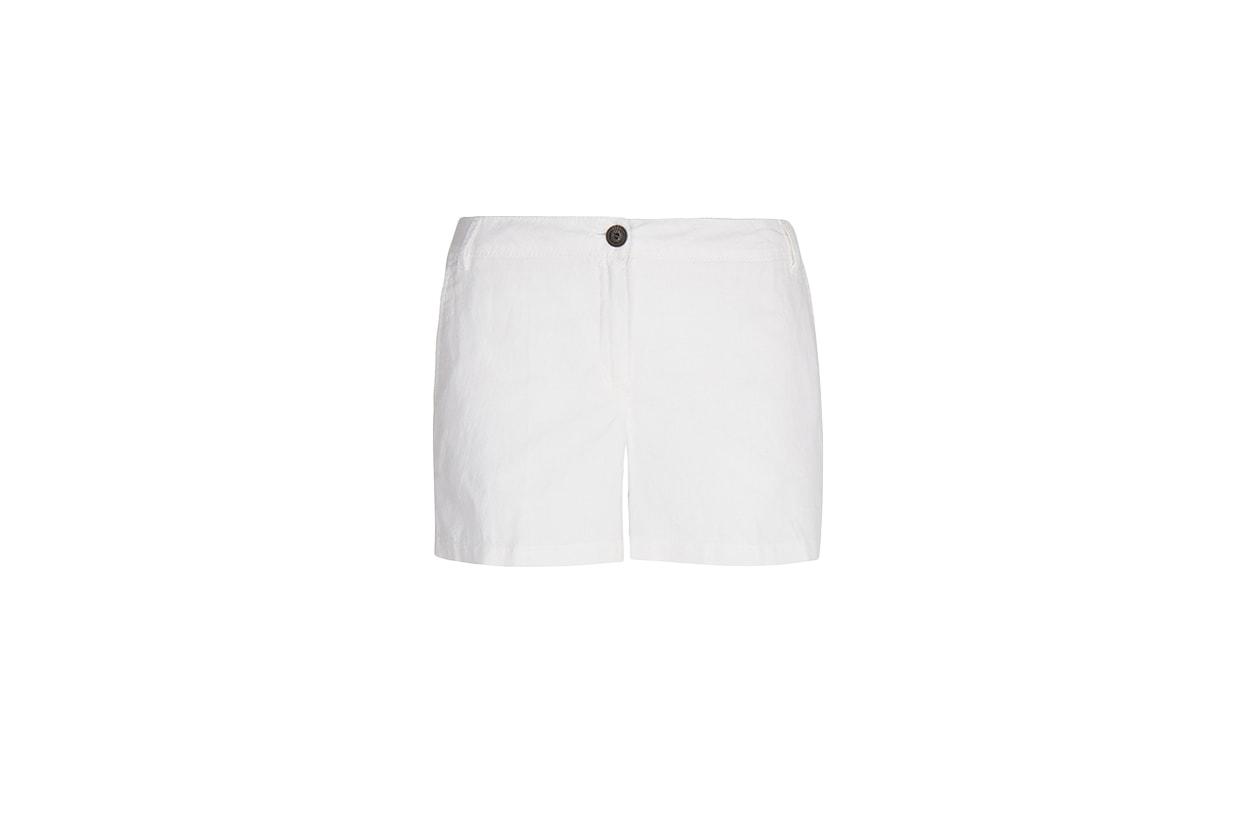 05 Fashion Shorts White Mango