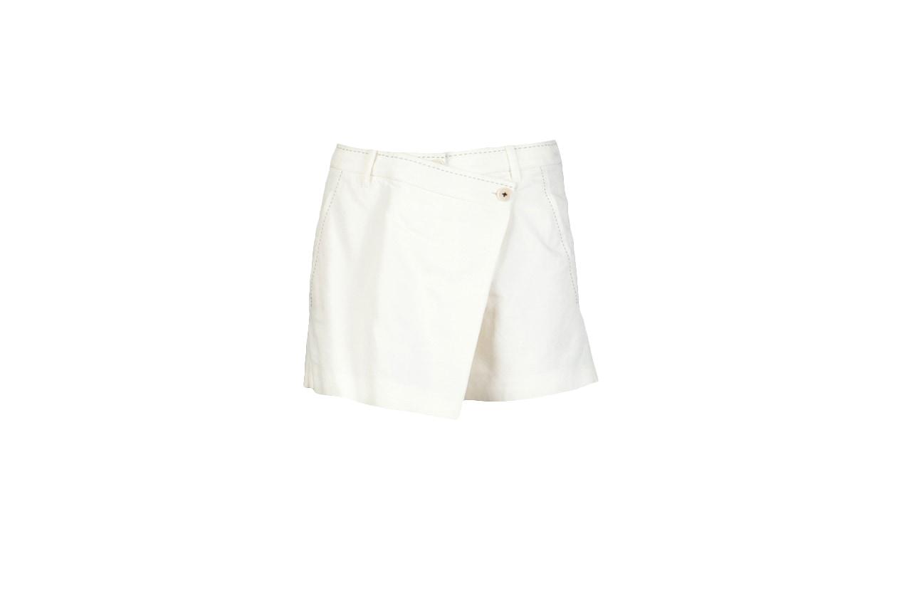 05 Fashion Shorts White ann demeulemester