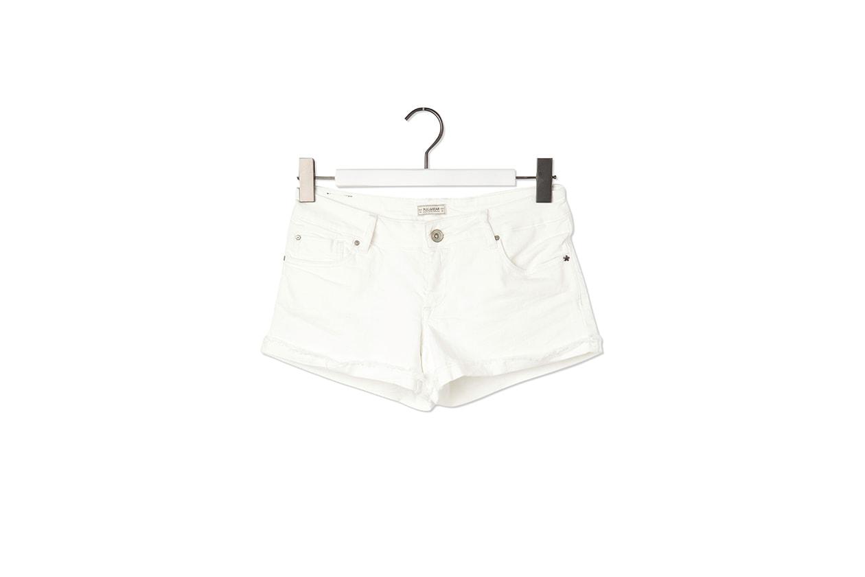 05 Fashion Shorts White pull bear