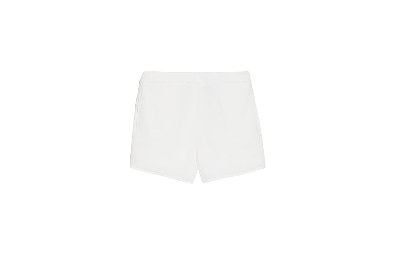 05 Fashion Shorts White t by alexander wang