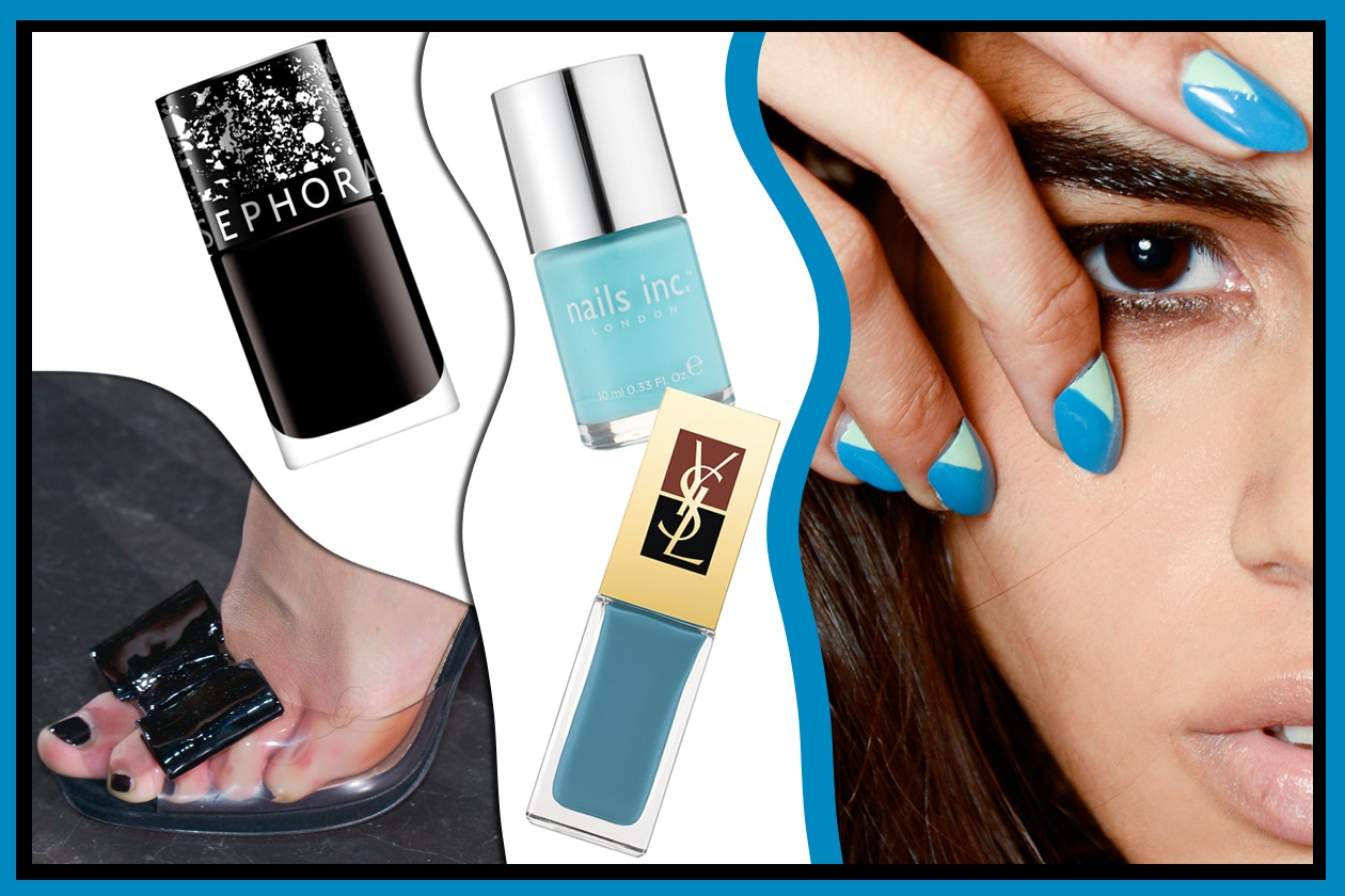 ANNI 60: Mood vintage d'impatto (Nails Inc – Yves Saint Laurent – Sephora- Rue du Mail – Tracy Reese)