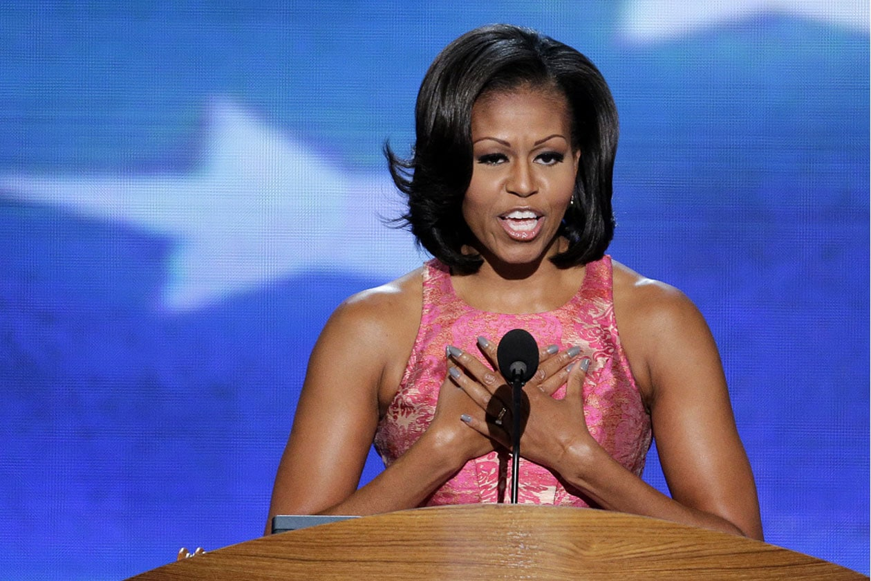 Artistic Michelle Obama Vogue