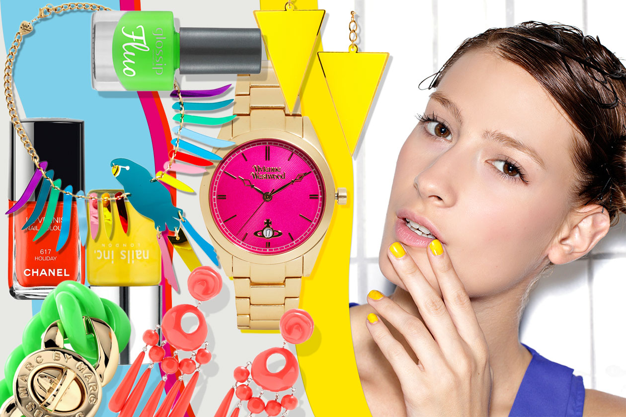 BEAUTY smalti & accessori neon 00 Cover collage