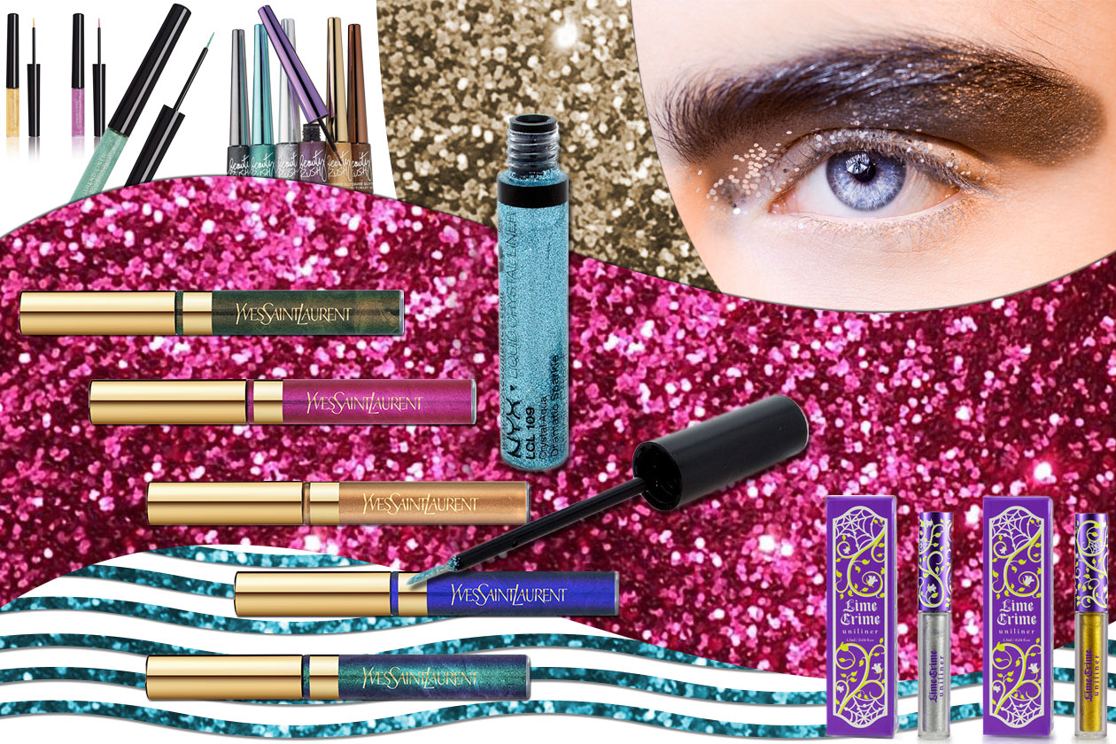 Beauty Eyeliner Glitter 00 Cover collage
