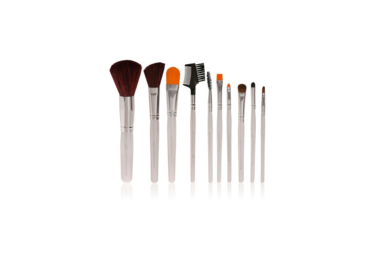 Beauty Pennelli ELF 10PC brush set 13 euro