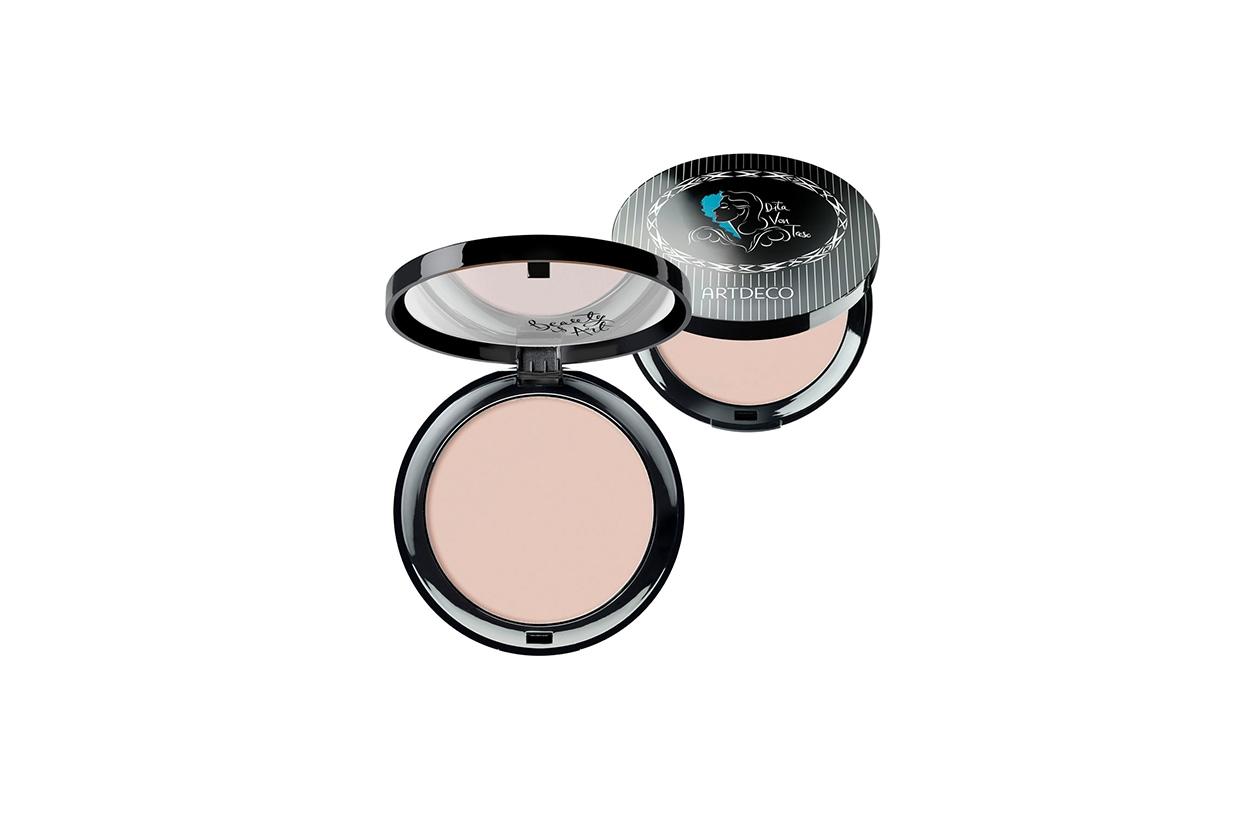Beauty Retro beauty make up ARTDECO Compact Powder 01 Dita Von Teese Face Fatale
