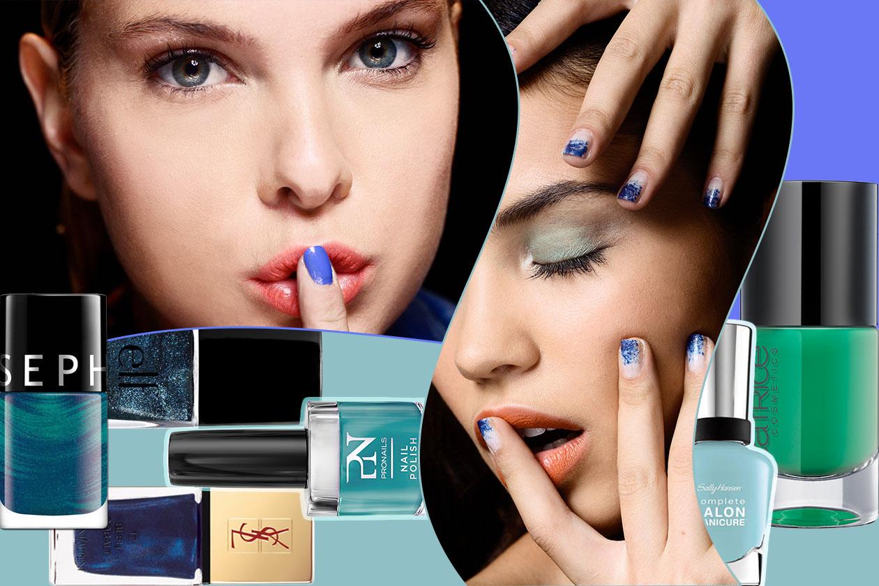 Beauty Smalti verdi blu 00 cover collage
