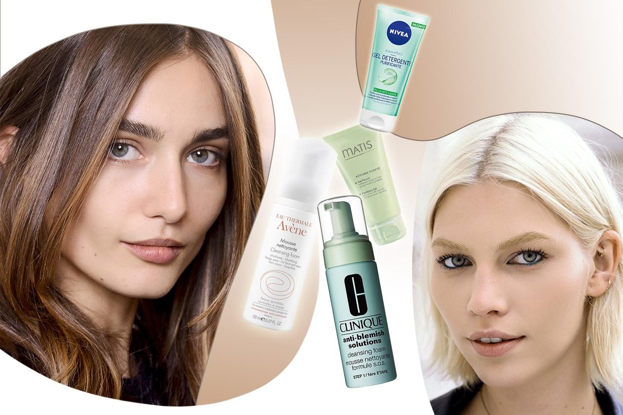 Beauty detergenti anti imperfezioni Cover collage
