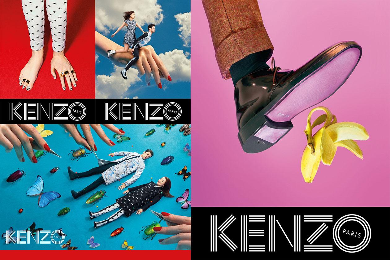 Fashion Campagne Fall 2013 KENZO