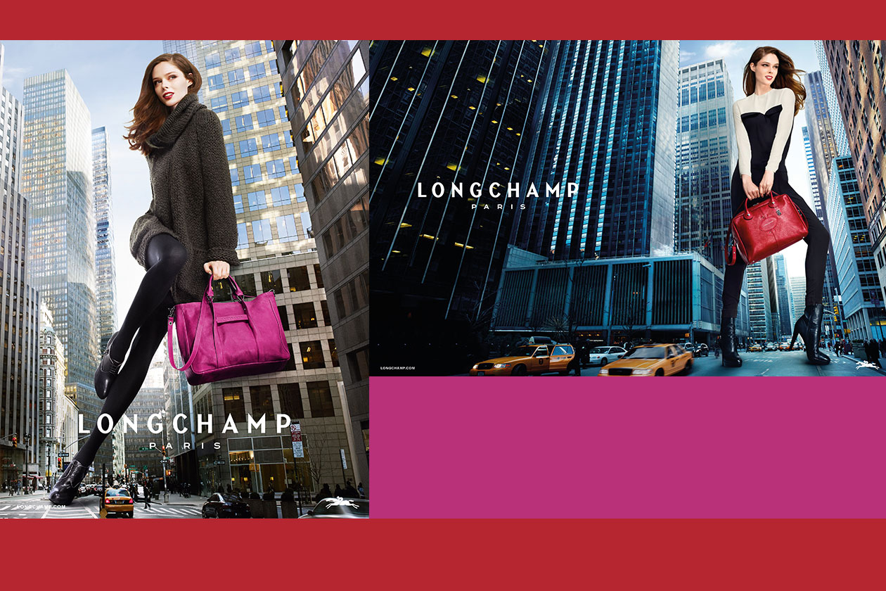 Fashion Campagne Fall 2013 LONGCHAMP