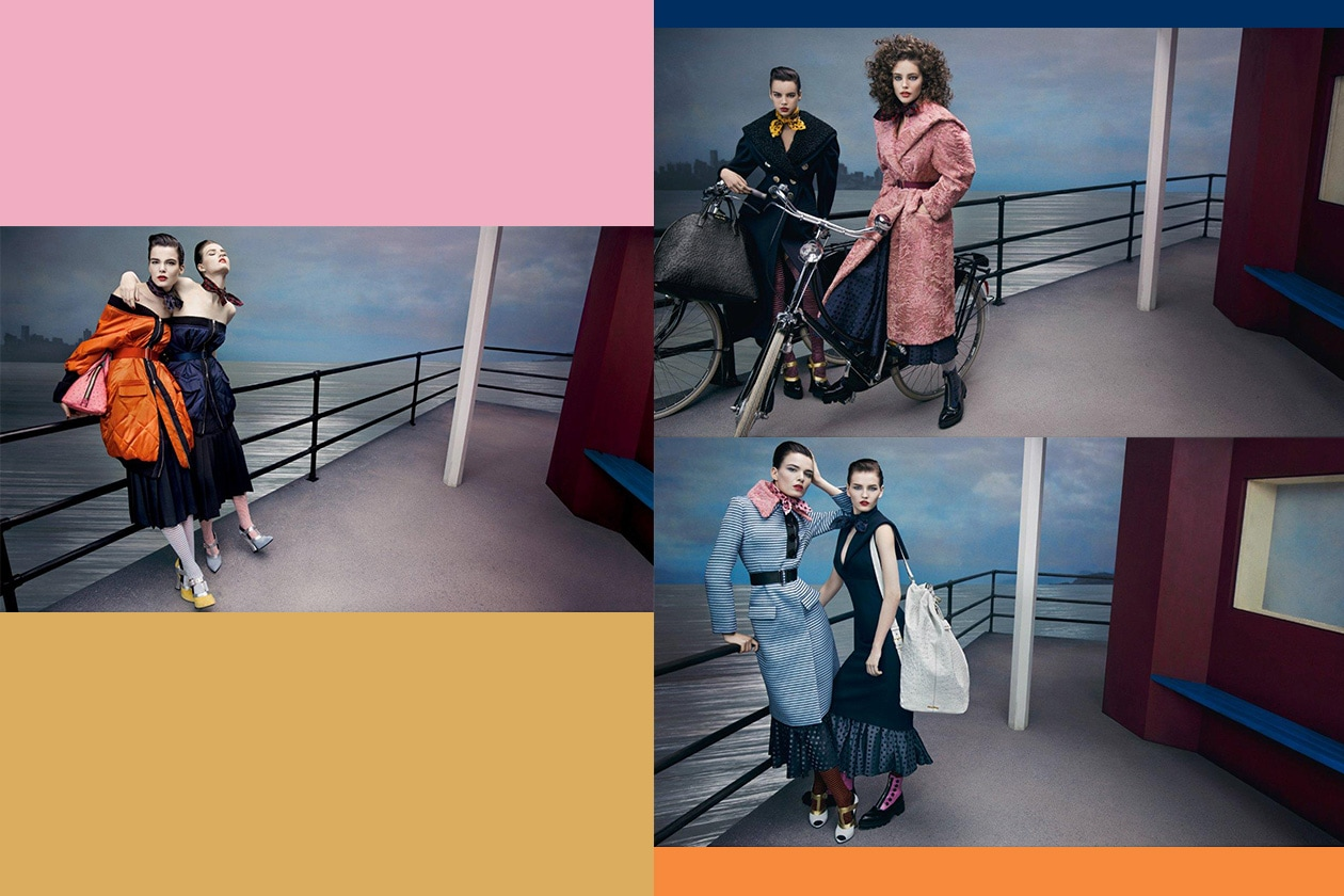 Fashion Campagne Fall 2013 Miu Miu