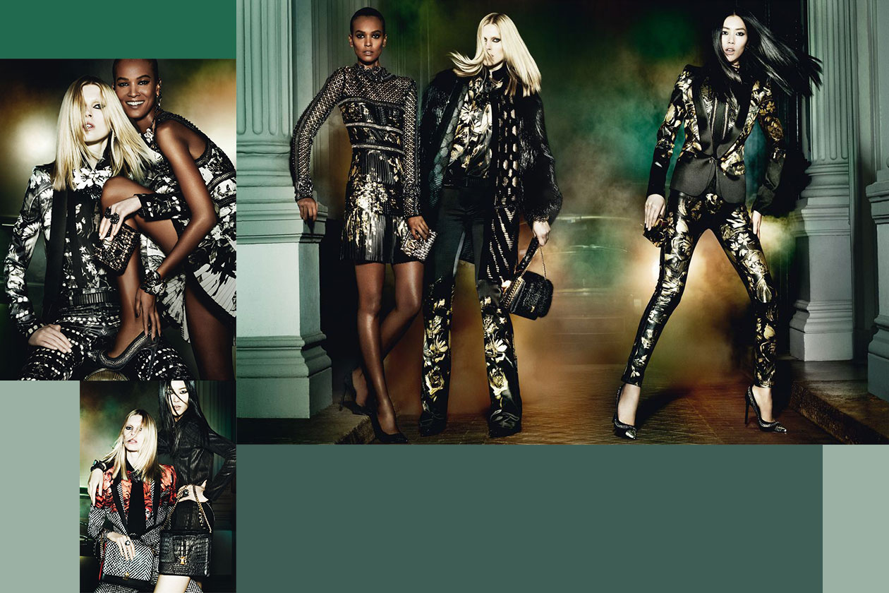 Fashion Campagne Fall 2013 cavalli
