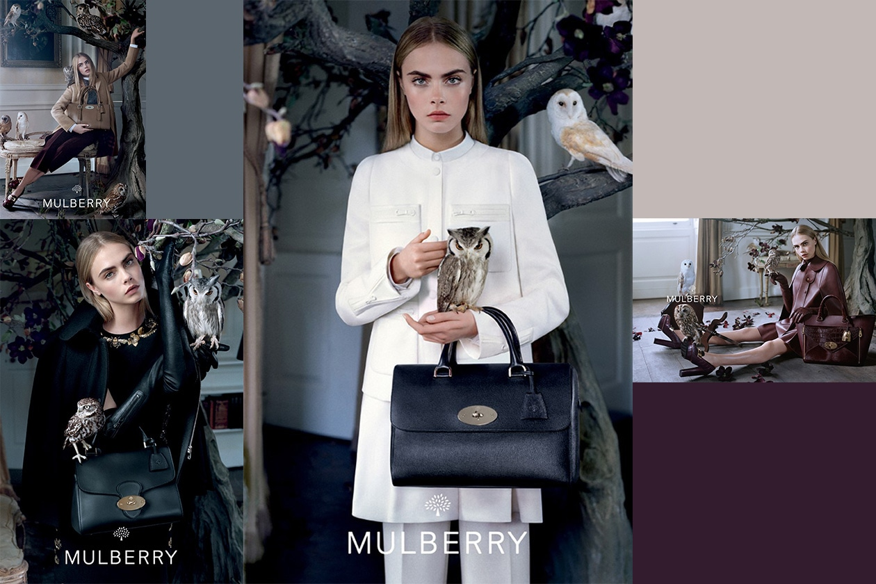 Fashion Campagne Fall 2013 mulberry