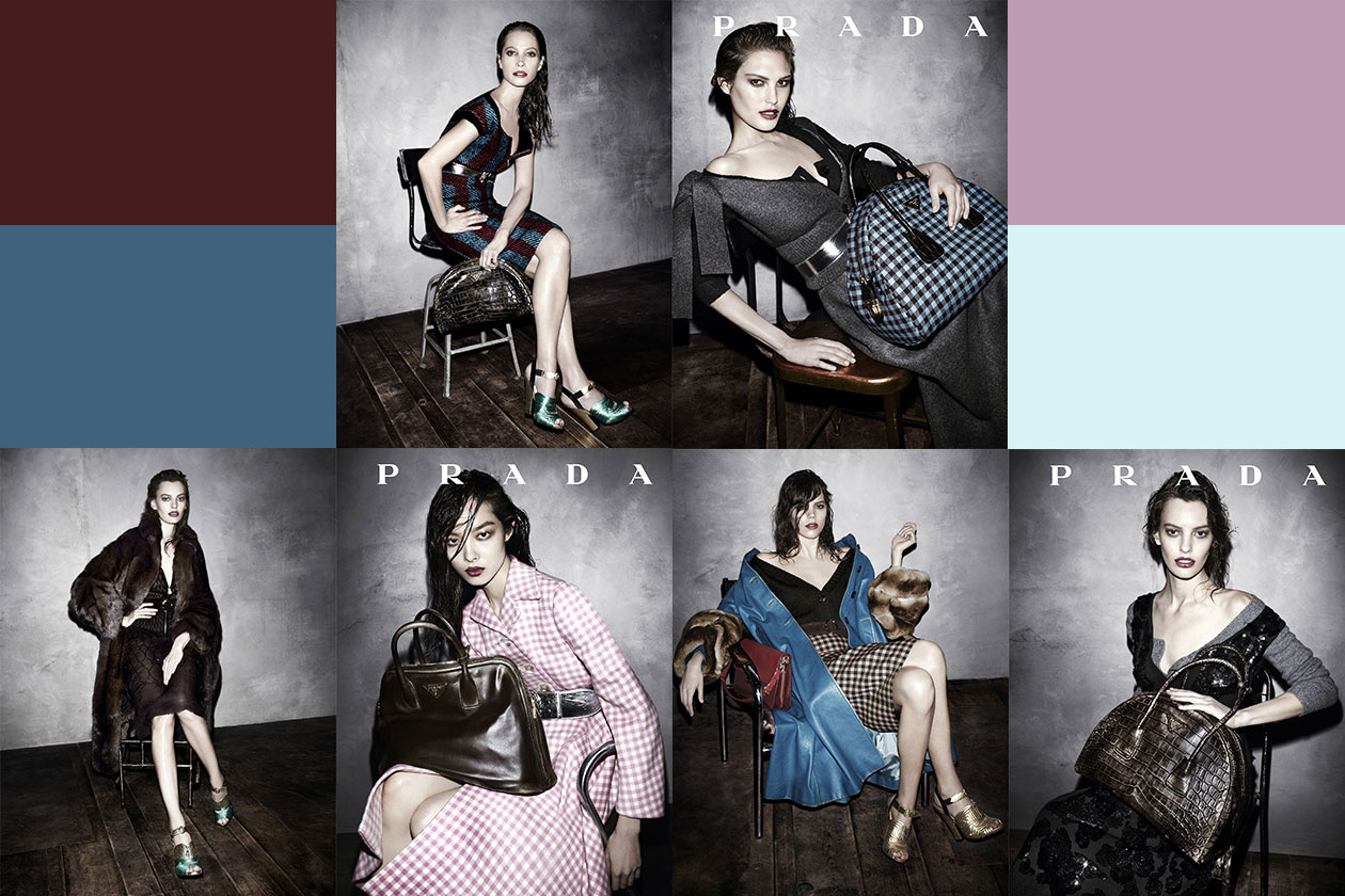 Fashion Campagne Fall 2013 prada