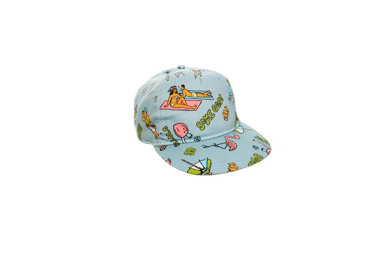 Fashion Cappelli Silvia Cappellino da baseball a stampa Hawaii, Vans