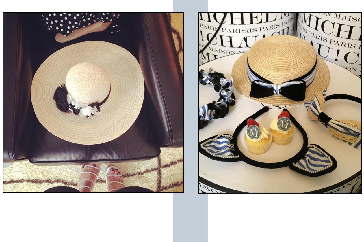 Fashion Cappelli Silvia Maison Michel