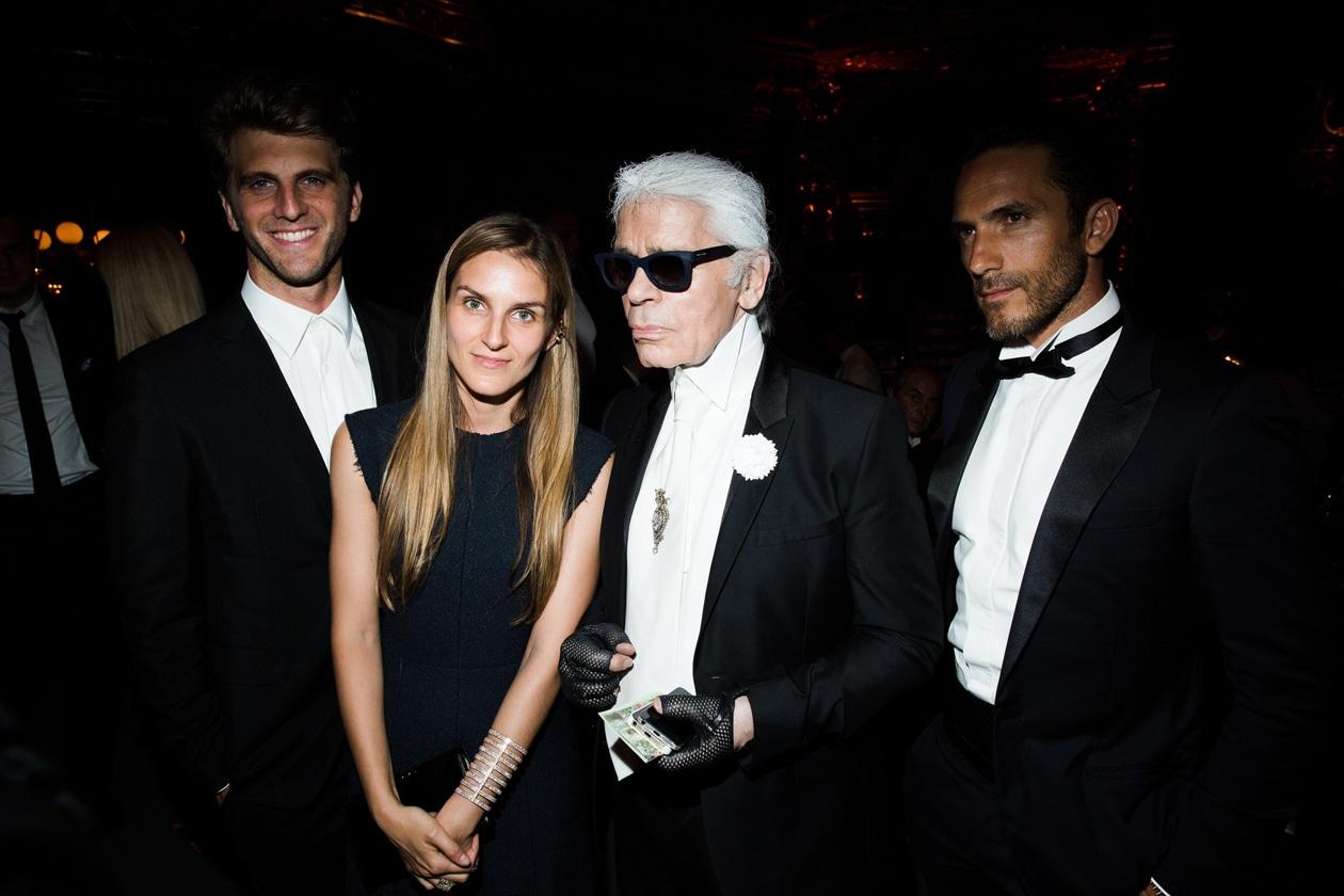 Gaia Repossi & Karl Lagerfeld