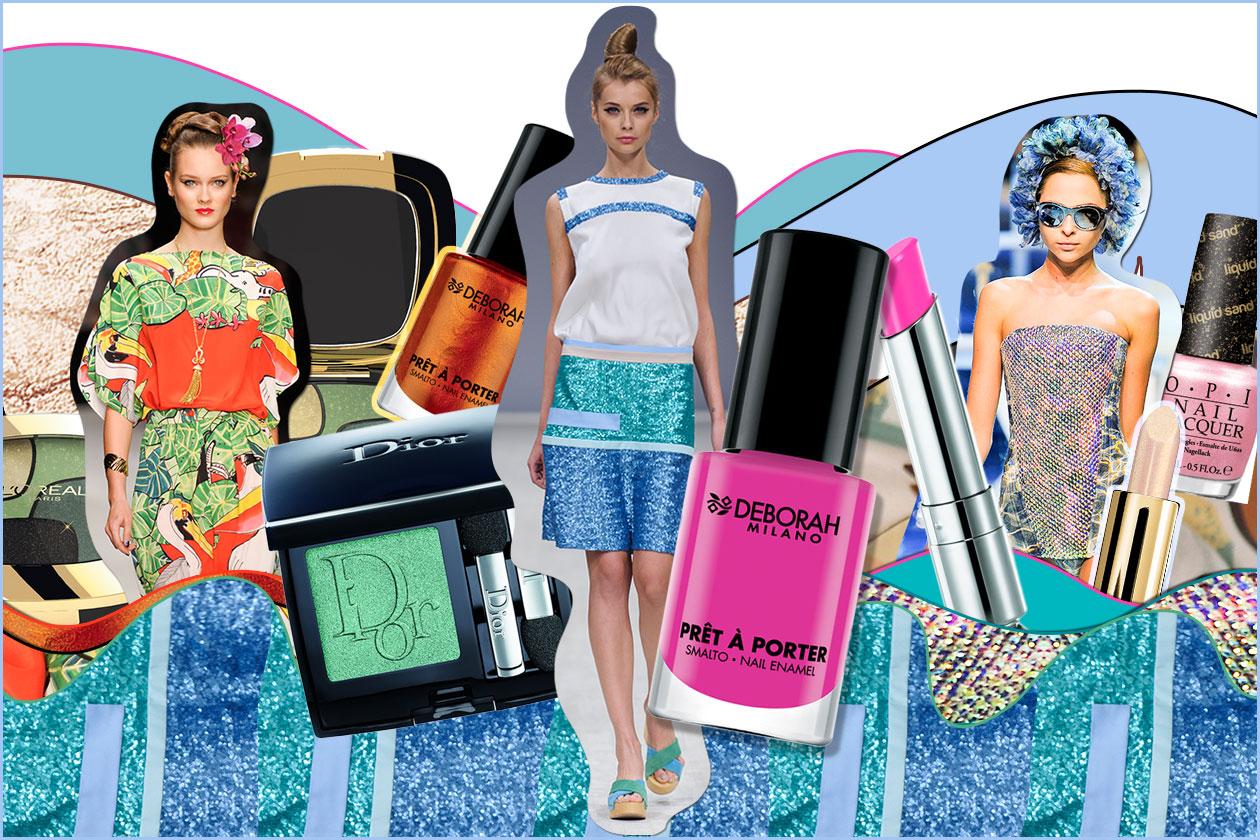I colori dell'estate al mare dal guardaroba al make up. Le proposte beauty&fashion di Grazia.IT