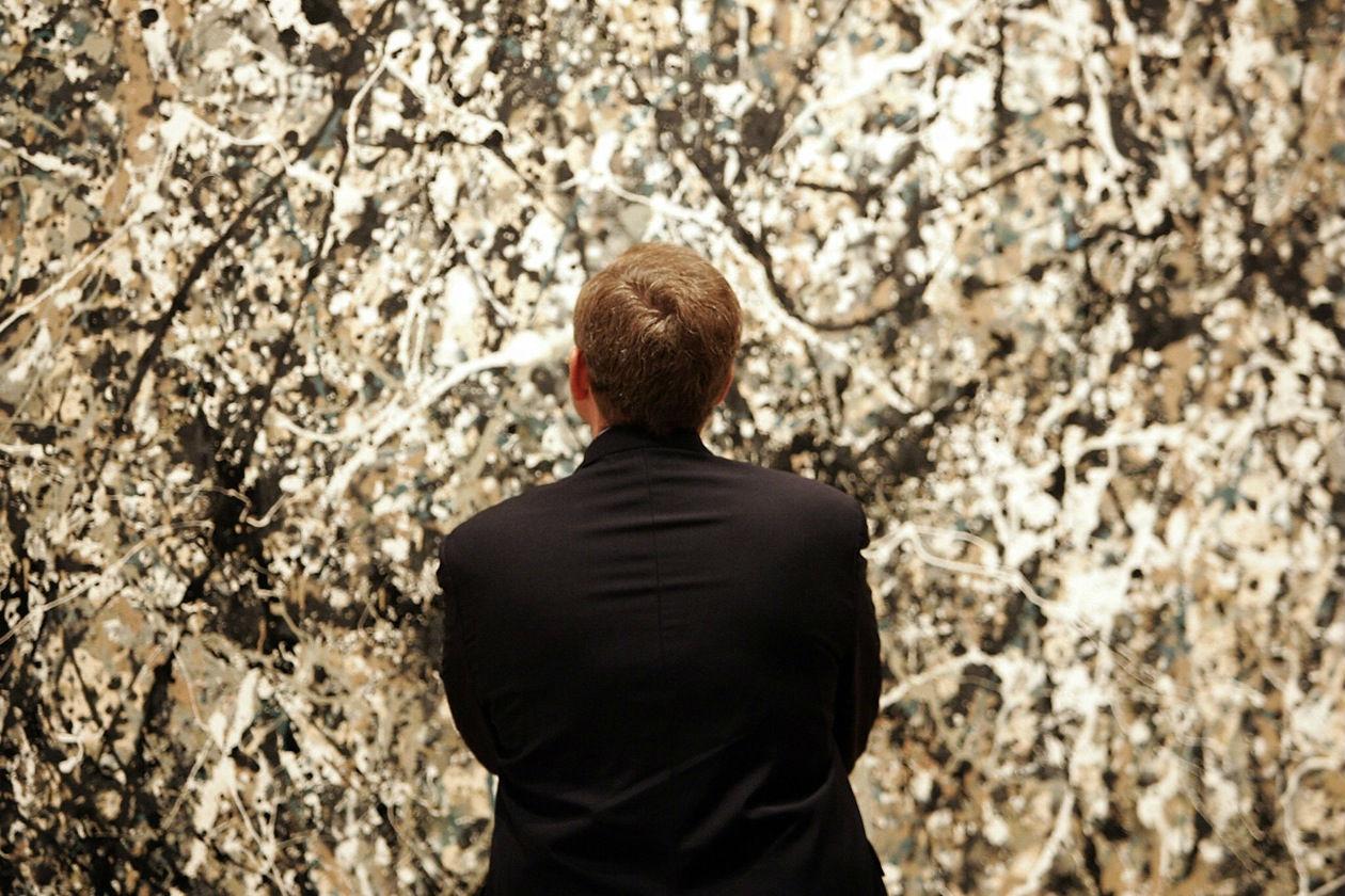 Jackson Pollock; dripping; arte contemporanea