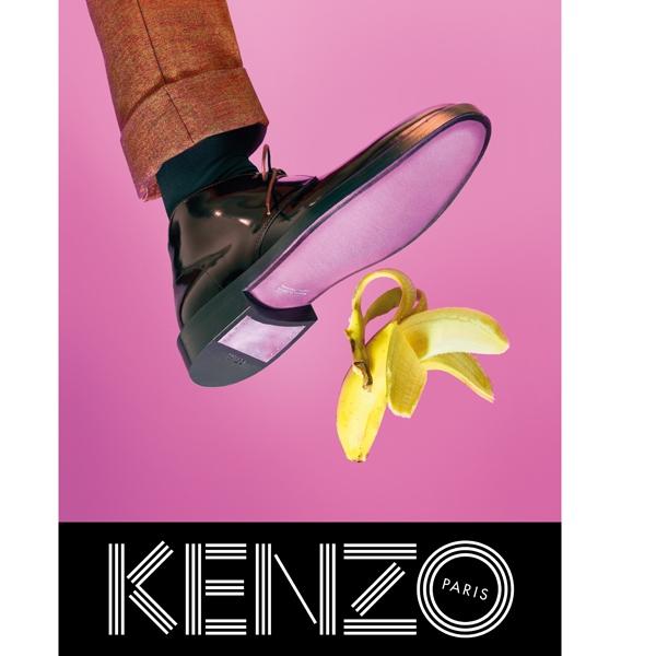 KENZO FW13 Campaign banana shoe